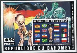 Dahomey, michel blok 49A, xx