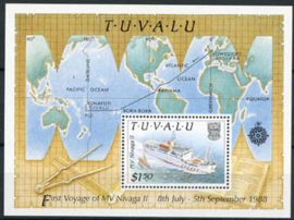 Tuvalu, michel blok 41, xx