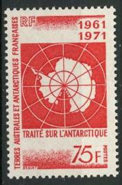 Antarctica Fr., michel 67, xx