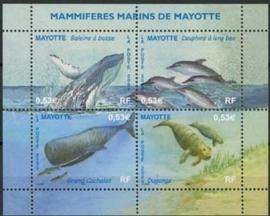 Mayotte, michel blok 8, xx