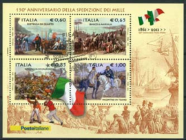 Italie, michel blok 48, o
