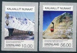 Groenland, michel 665/66, xx