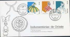 Brazilie, FDC michel 1912/14, 1982