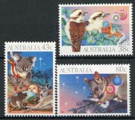Australie, michel 1230/32, xx