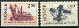 Noorwegen, michel 936/37, xx