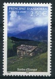 Andorra Fr., michel 634, xx