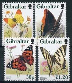 Gibraltar, michel 793/96, xx