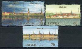 Letland, michel 545/48, xx