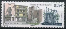 Andorra Fr., michel 730, xx