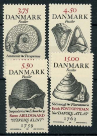 Denemarken, michel 1195/98, xx