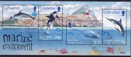 Gibraltar, michel blok 34, o