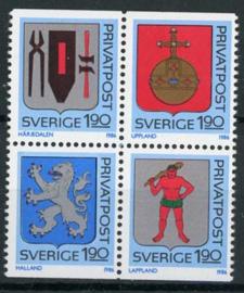 Zweden, michel 1386/89, xx