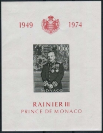 Monaco, michel blok 6, xx