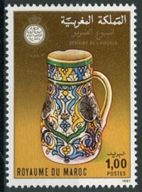 Marokko, michel 1118, xx