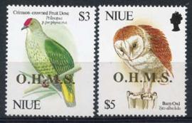 Niue, michel dienst 26/27, xx
