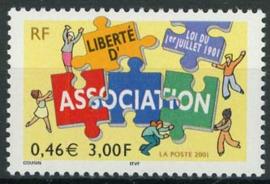 Frankrijk, michel 3544, xx