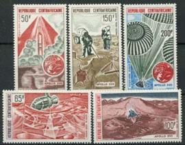 Centrafricain, michel 339/43, xx