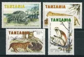Tanzania, michel 258/61, xx
