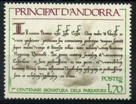 Andorra Fr., michel 294., xx