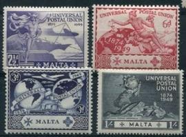 Malta, michel 216/19, x