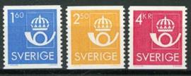 Zweden, michel 1316/18, xx