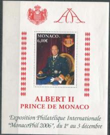 Monaco, michel blok 94, xx