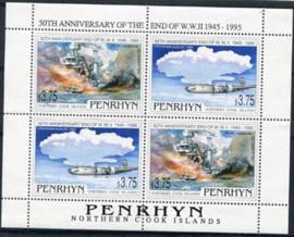 Penrhyn, michel kb 575/76, xx