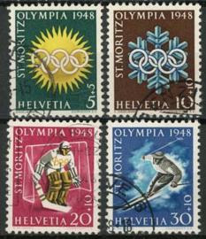 Zwitserland, michel 492/95, o