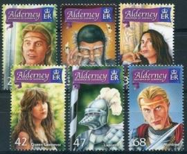 Alderney, michel 266/71, xx