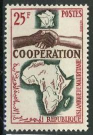 Mauretanie, michel 240, xx