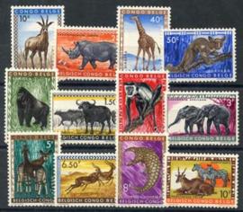 Bel. Congo, michel 343/54, xx