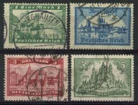 Duitse Rijk, michel 364/67x , o