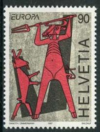 Zwitserland, michel 1615 , xx