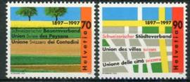 Zwitserland, michel 1616/17, xx