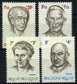 Belgie, obp 1557/60,xx