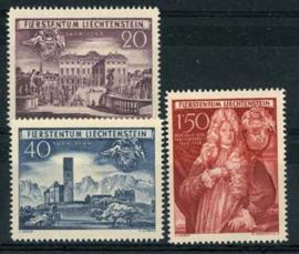 Liechtenstein, michel 281/83, x