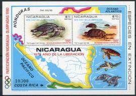 Nicaragua, michel blok 114, xx