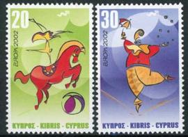 Cyprus, michel 990/91, xx