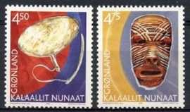 Groenland , michel 379/80 , xx