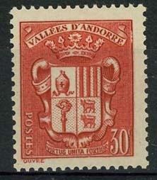 Andorra Fr., michel 57, x
