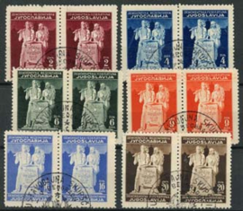 Joegoslavie, michel 486/91 I / II, o
