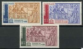 Gabon, michel 193/95, xx