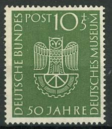 Bundespost, michel 163, xx