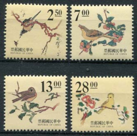 Taiwan, michel 2252/55, xx