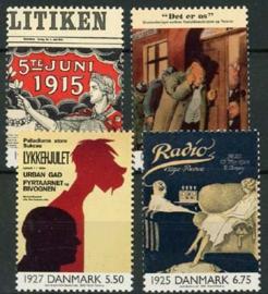 Denemarken, michel 1248/51, xx