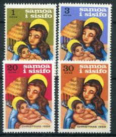 Samoa, michel 187/90, xx
