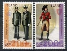 IJsland, michel 1026/27 , xx
