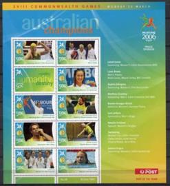 Australie, michel kb 2578/86, xx
