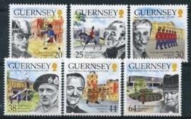 Guernsey, michel 813/18, xx