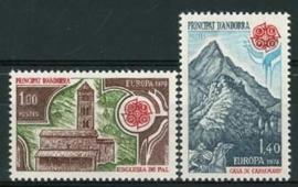 Andorra Fr., michel 290/91, xx